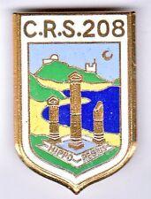 Insigne Police CRS 208 Bône 51208.001