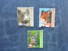 2015 CROATIA FAUNA SET 3 MINT STAMPS M.N.H.