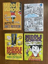 Lot Of 4 Middle School Hardcover Books - Good Condition