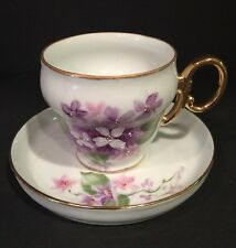 S. Hickman Tea Cup And Saucer Collectible