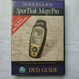 Magellan Sportrak Map/Pro DVD Guide GPS 2002 No Manual, Disc Only