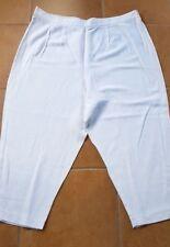 Leichte Damen Hose Weite Hose von Gigi Modelle weiß Gr. 52 Viskose