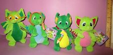 Pocket Dragons Dragon Plush Binky Specs Zoom Zoom Scribbles Stuffed Tags Lot