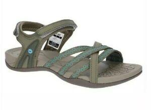 HI-TEC SAVANNA II Ladies walking Multi-Use beach treak Sandals UK 5 38 EUR taupe