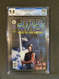 STAR WARS Heir to the Empire 1 NEWSSTAND Graded CGC 9.8 1st Appearance of Thrawn