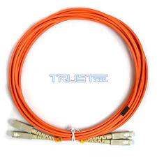 3m SC-SC* Multi-Mode  Duplex  Fiber Optic Cable / Patch Cord