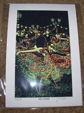 JAMES EADS Giclee Print THE LOVERS Prisma Visions Tarot poster art sn/200