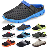Mens Fashion Sandals Casual Flip Flop Front Block Sandles Beach Cool Shoes Size