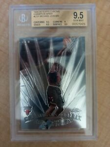 Michael Jordan 1998-99 Topps Chrome Championship Spirit #CS1 BGS 9.5 GEM MINT