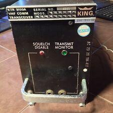 King KTR 9100A 720 channel Com Radio, 064-1005-02,