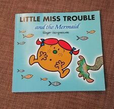 Little Miss Trouble and the Mermaid by Roger Hargreaves with added Sparkle