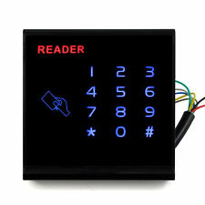 Waterproof Touch Keypad RFID EM-ID Card Reader Door Access Control System WG26
