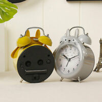 Totoro Portable Silent Dual Bell Alarm Clock With Night Light Bedroom Diy Decor
