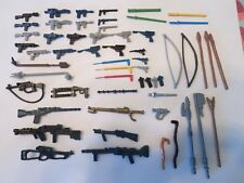 57 Vintage Star Wars Weapons Figures Lot