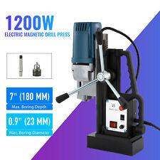 1200w Heavy Duty Portable Magnetic Drill Press 09 Boring Diameter 2900lbf