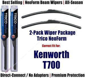 2pk Super-Premium NeoForm Wipers fit 2011-2014 Kenworth T700 16200x2