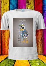 Donald Duck Elderly Cigarette Old T-shirt Vest Tank Top Men Women Unisex 481