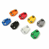 Motorcycle Foot Side Stand Enlarger Extension Kickstand Plate Pad Z1000 ER6N F