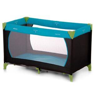 Hauck Dream N Play Travel Sleeping Cot & Play Pen In Waterblue