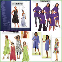 OOP Butterick Sewing Pattern Misses Dress Plus Size 16 - 24 or 16 - 26 You Pick
