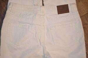 Girls 12 Justice White Denim Distressed Jeans   CUTE