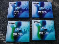 TDK Blank Minidiscs - 2x 74Mins + 2x 80Mins Bundle