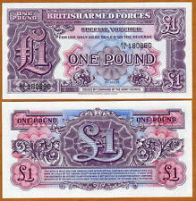 Great Britain, 1 pound, Armed Forces, ND (1948), M22, UNC