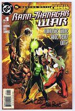 Rann-Thanagar War Set 1-6 VFNM Issue #1 Signed w/COA Dave Gibbons 2005 DC