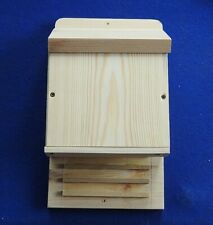 WOODEN BAT BOX OR SHELTER FOR WILD BATS TO ROOST / OVERWINTER
