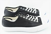 Converse Jack Purcell JP Signature Ox Mens Size 10 Black Leather Shoes 149910C