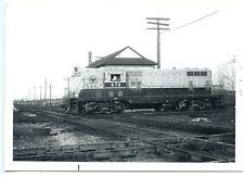 F713 RP 1963 BELT RAILWAY OF CHICAGO TRAIN ENGINE #474 CHICAGO  IL