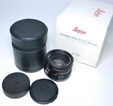 Leica R Summicron 2/50 2 50mm E55 11216 Objektiv  ff-shop24