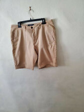ABERCROMBIE & FITCH MEN Shorts Sz 34 TAN khaki, COTTON/SPANDEX, #314