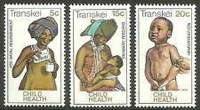 Transkei - Kinderhilfe Satz postfrisch 1979 Mi. 62-64