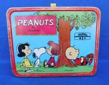 1973 Vintage Peanuts Charlie Brown and The Gang Metal Lunch Box