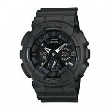 CASIO G-Shock GA-120BB-1A All Matt Black Monotone Reverse LCD X-Large @