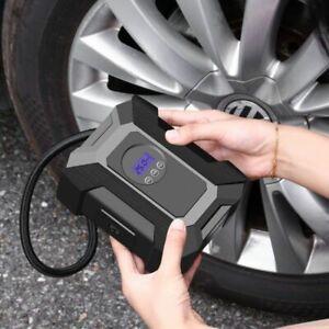 Car Tire Air Compressor Portable Electric Air Pump 12V Inflator Car LED Light