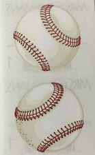 BASEBALL Stickers(2pc)Mrs.Grossman's Sport•Game•Softball•Players •Bat•Point•Ball
