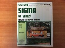 Gregory's Sigma - GE Series Service & Repair Manual No116 A - 1978/1980