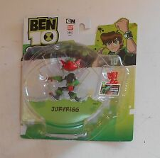 CARTOON NETWORK BEN 10 OMNIVERSE-JURYRIGG-NUOVO-MINT IN CARD
