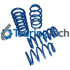 """Lowering Springs 1979-1993 Mustang 1.6""""F/2.0""""R Touring Tech Performance Blue"""