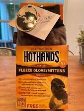HotHands Heated Fleece Glove-Mitten -M/L Mossy Oak Pro Text