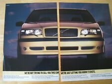 VOLVO 850 T-5R CAR POSTER ADVERT READY TO FRAME A3 SIZE FILE M