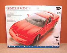 1/24 TESTORS 1997 CHEVROLET CORVETTE MODEL KIT # 184