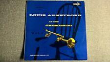 Louis Armstrong-Louis ARMSTRONG At the Crescendo Vol.1 (mono). LP.