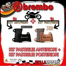 BRPADS-1061 KIT PASTIGLIE FRENO BREMBO PIAGGIO BEVERLY 2002-2004 500CC [ORGANIC+