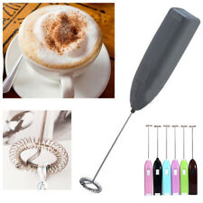 Mini Electric Handy Frother Foamer Drinks Milk Whisky Stirrer Mixer Egg Beater