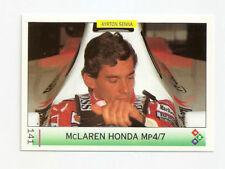 Ayrton Senna | McLaren Honda MP4/7 | 1992 Portugal | Formula 1 Card | PMC #141