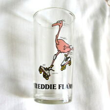 Freddie Flamingo Water Juice Drinking Glass RARE