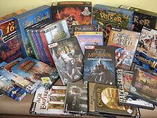 Strategie, Aufbau und Rollenspiele Klassiker (PC Spiele Vollversionen)